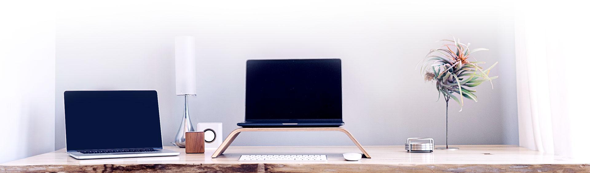 Bureau d'un développeur WordPress